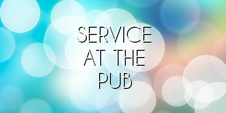 service at the pub